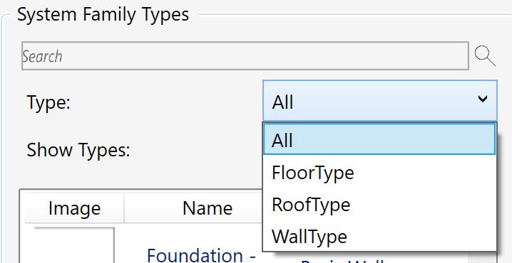 Filter system types